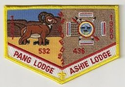 Ashie and Pang lodges combo flap patch